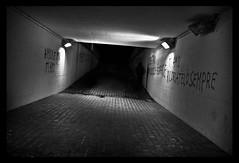 (i k o) Tags: shadow mystery canon underpass underground subway eos graffiti darkness nightshot spirit fear ghost ombra tunnel horror terror nightmare presence vignetting fantasma hdr decadence biancoenero nighthawk riccione notturno orrore paura terrore mistero decadenza incubo spirito sottovia presenza sottopassaggio vignettatura semihdr 450d nottambulo tenebra scattonotturno theauthorsplaza