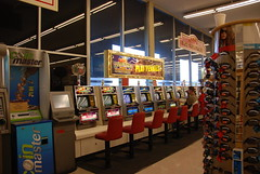 Slot Machines in the Grocery Store