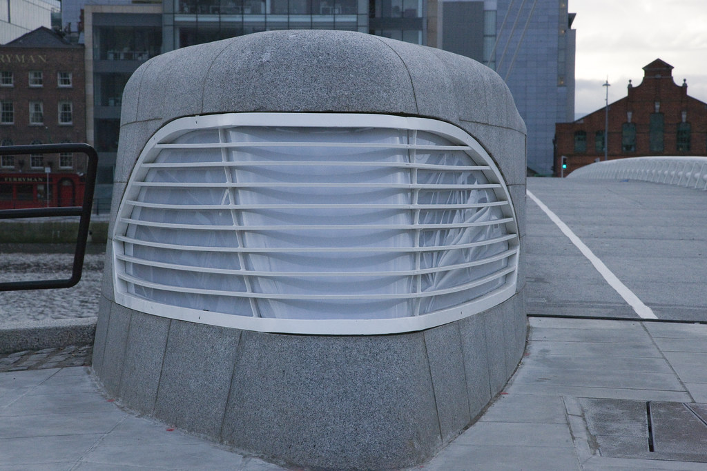 The Samuel Beckett Bridge Is Now Operational