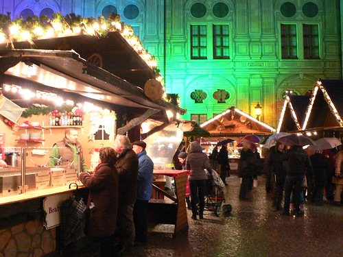 Christmas market in the Residenz in Munich