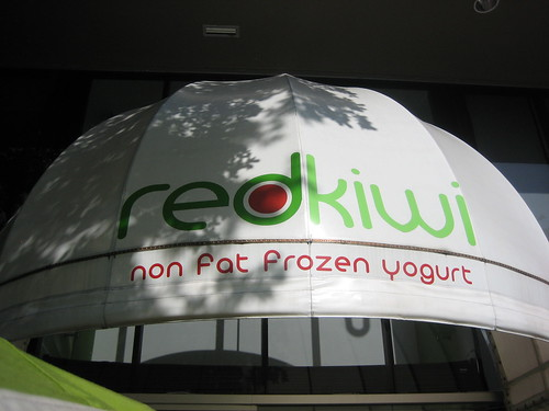 Red Kiwi Frozen Yogurt