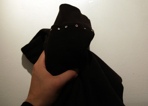 hoodie with rhinestones