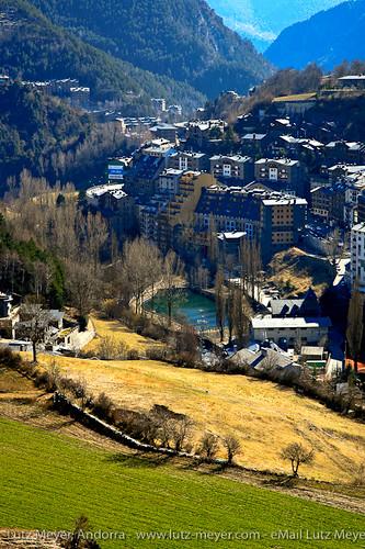 La Massana city, Parroquia de La Massana, Vallnord, Andorra, Pyrenees por lutzmeyer.