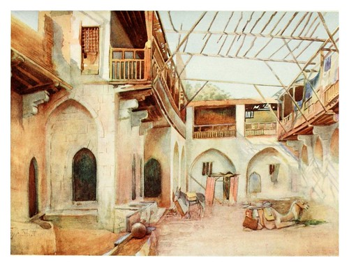 030-El Khan Dobabiyeh en el Cairo-Cairo, Jerusalem, and Damascus..1907- Margoliouth D. S.