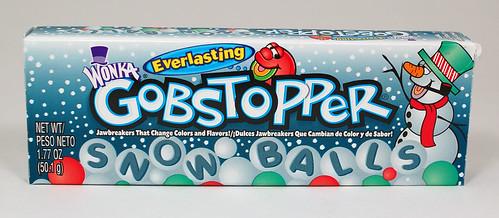 Wonka Gobstopper Snow Balls