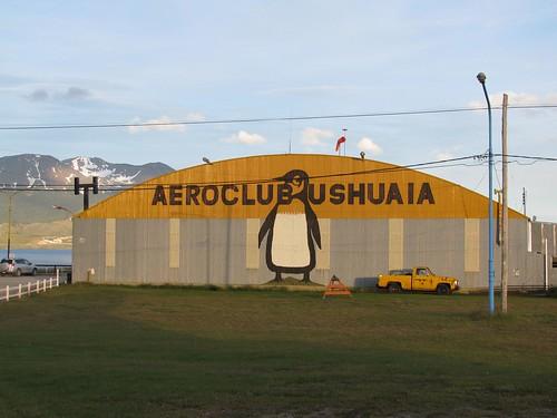 Aeroclub Ushuaia hangar