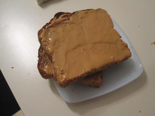PB toasts
