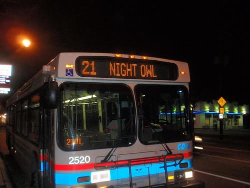 N Owl Next Bus C-Bus N Bar Crawl