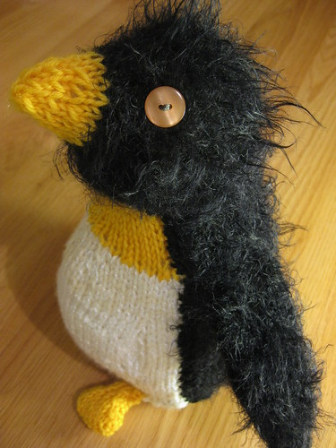 Grumpy the Penguin