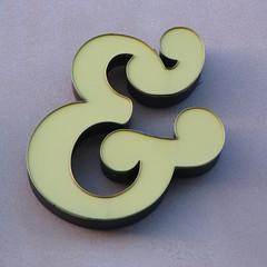 Ampersand (New Kensington, PA) (takomabibelot) Tags: square geotagged pennsylvania newkensington punctuation ampersand geo:lat=4058829267 geo:lon=7974616170