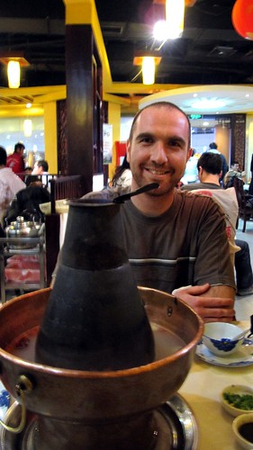 Marko and our hot pot