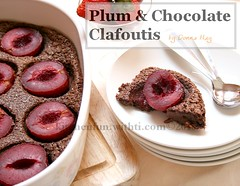 plum & Chocolate Clafoutis 2