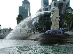 The Lion that Stands in Singapore