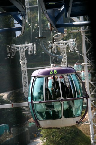 Ocean Park: cable car