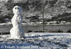 Fort William snowman