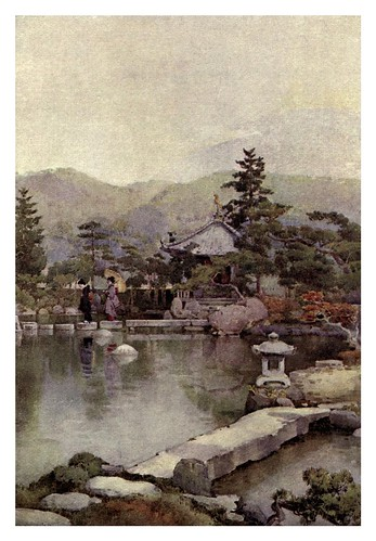 003- Vista de una jardin japones-The flowers and gardens of Japan (1908)-  Ella Du Cane