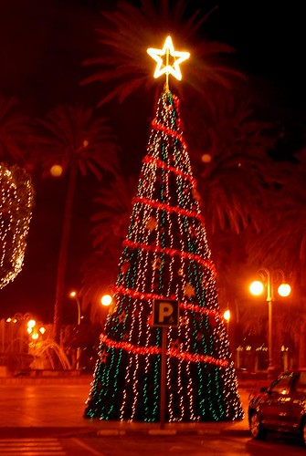 Iluminación Navidad de Melilla 2009