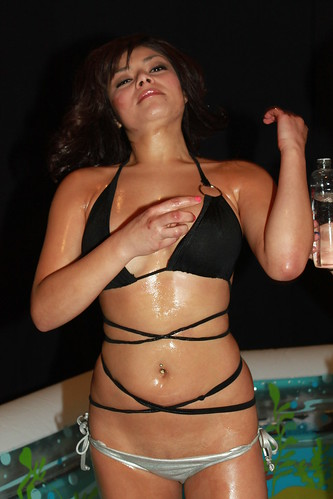 Bikini Baby Oil Wrestling @ Club Cal Neva, Downtown Reno.