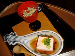 kaiseki ryori (zeping) Tags: japanesefood   kaisekiryori doufu