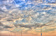 Great Highway (wong_jordan) Tags: ocean light beach lamp clouds highway san francisco great posts hdr highdynamicrangephotography