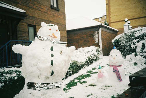 Redcliffe snowmen