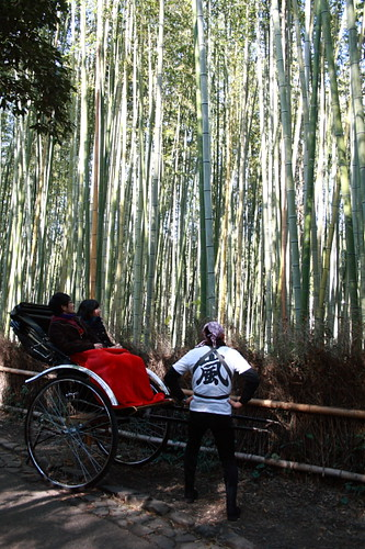 Rickshaw Puller at Arashiyama, Kyoto