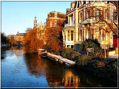 Singelgracht and icy water- Amsterdam (jackfre2 (on a trip-voyage-reis-reise)) Tags: city netherlands windmill amsterdam canal belt ditch crescent ramparts stronghold gracht sarphatistraat weteringschans marnixstraat lijn singelgracht lijnbaan grachtengordel impressedbeauty goldstarawardgoldmedalwinner artofimages defenceline bestcapturesaoi elitegalleryaoi mygearandmepremium mygearandmebronze mygearandmesilver mygearandmegold