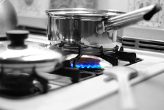 cooking gas pans
