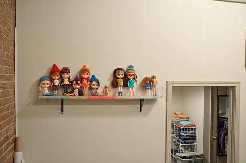 dolly shelf...
