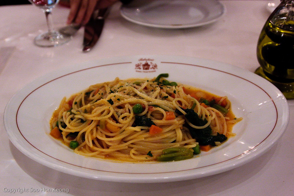 Spaghetti @ Sogo FuXing Branch, Taipei, Taiwan