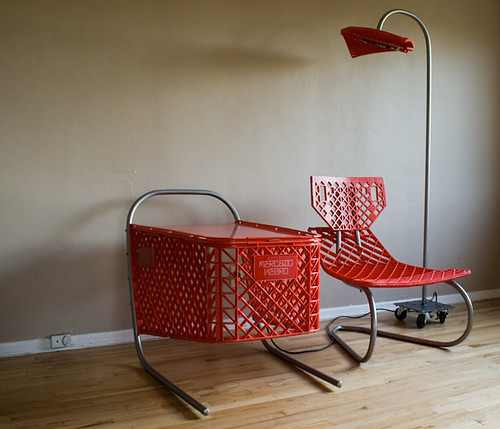 Furniture Made From Shopping Carts