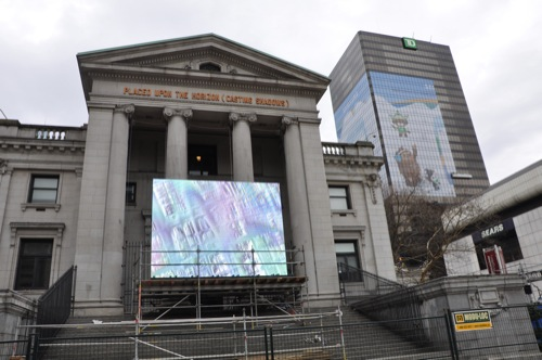 Vancouver Art Gallery viewing area