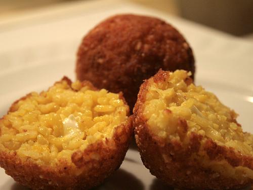 Rice Balls Arancini Recipe