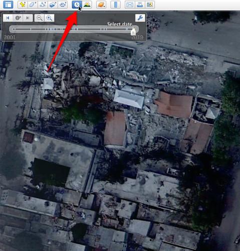 Google Earth - After Haiti Earthquake Image