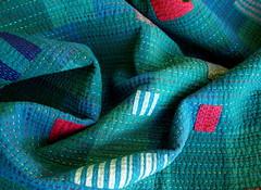 Work Quilt #2 - Detail (BooDilly's) Tags: inspiration embroidery quilting patchwork artquilt piecing handstitching studioquilt shotcotton sillyboodilly victoriagertenbach workquilt utilitarianquilt sulkypremium100egyptiancottonthread