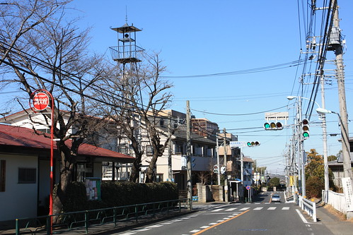 東寺方の火の見櫓