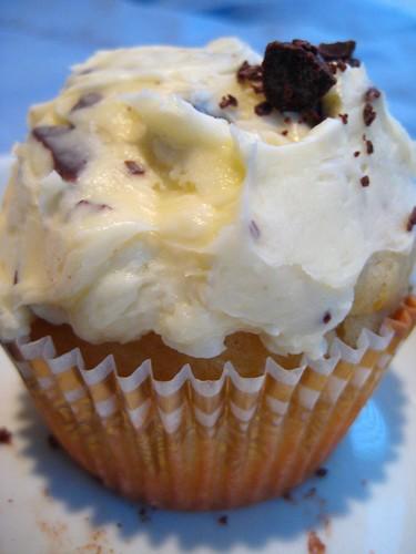 Stracciatella Cupcake