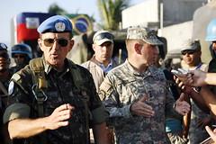 MINUTSAH Force Commander and U.S. Lt. General ...