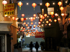 Forget It, Jake (johnwilliamsphd) Tags: road people copyright signs blur john losangeles downtown chinatown williams c chinese lanterns chungking  fongs williams john alexcheung johncwilliams liyuen johnwilliamsphd phd