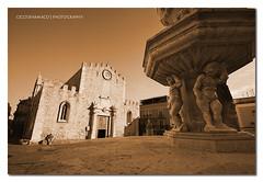 Taormina - A postcard of Taormina´s Dome :: HDR
