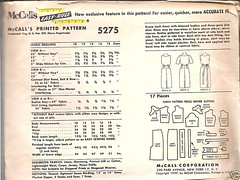 1959 McCall's 5275 2 (50's&90's_revisited) Tags: 1959 sheath mccalls