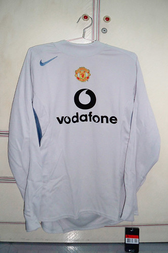 Manchester United 2004-2005 Goalkeeper Away L/S