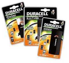 Duracell USB Chargers