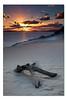 Carlo Sand Blow - Dawn ([ Kane ]) Tags: ocean beach water sunshine sunrise rainbow sand qld queensland stick rays kane sunshinecoast rainbowbeach gledhill 50d colouredsand kanegledhill raymachine kanegledhillphotography