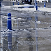 ice to water (EG documentary photography) Tags: blue winter ice wet reflections pavement rs blueribbonwinner otw mywinners abigfave platinumphoto ysplix newacademy goldstaraward