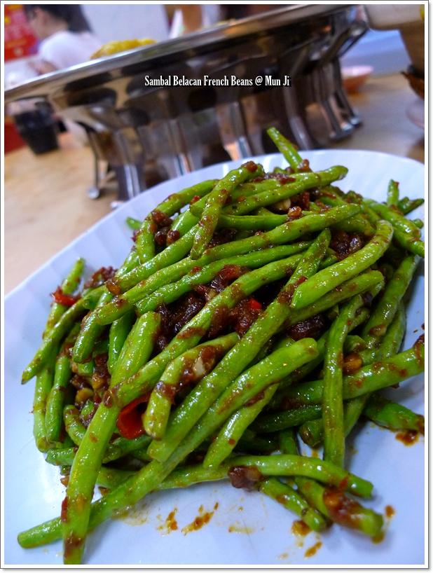 Sambal Belacan French Beans @ Mun Ji
