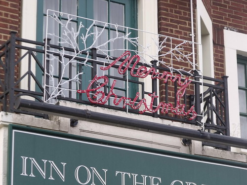 Inn on the Green, pub in Acocks Green Village - Merry Christmas