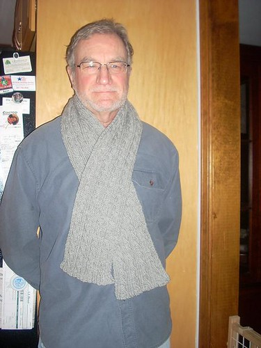 Dad's Palindrome Scarf