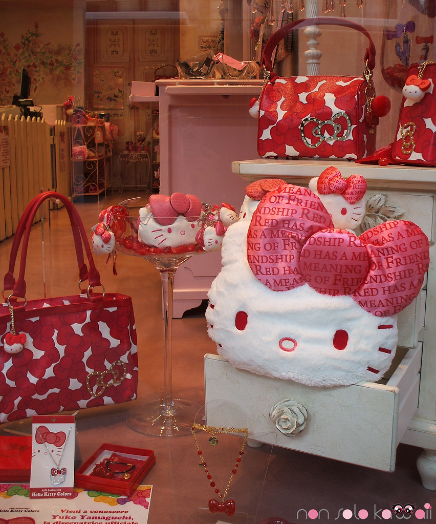 Hello Kitty Colors - Red Ribbon Limited Edition