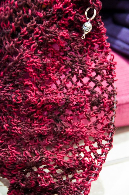 Arabella shawl - WIP